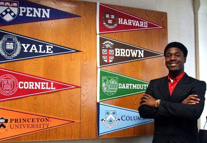 Kwasi Enin tiene tan sólo 17 años, pero es candidato a ingresar a las ocho universidades de mayor 'peso' en Estados Unidos, como Harvard, Princeton y Columbia, por mencionar algunas. (fabmagazineonline.com)
