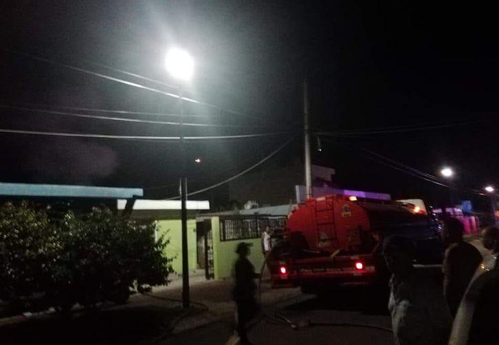 Un joven, de 22 años de edad, fue hallado sin vida dentro de una habitación incendiada, en el centro de Bacalar.  (Redacción/SIPSE)