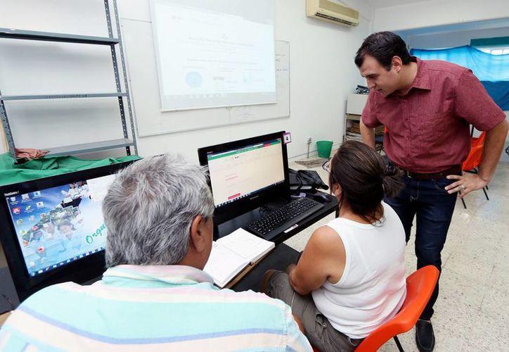 Este fin de semana se impartió un curso de capacitación a emprendedores sobre la plataforma del Inadem. (Cortesía)
