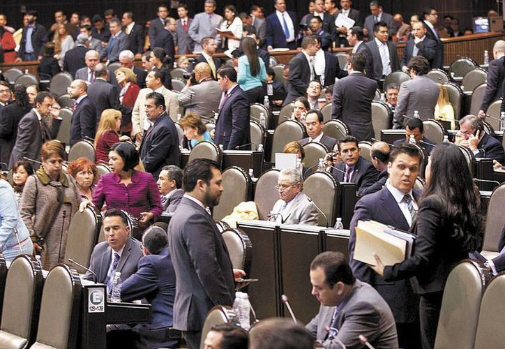 El pleno de la Cámara de Diputados avaló el dictamen con 354 votos a favor y 36 en contra. (Milenio)