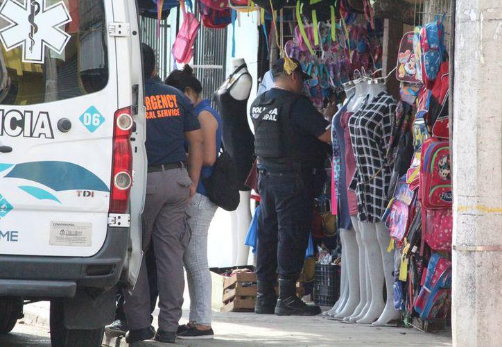 El hombre fue ejecutado en su comercio, en la colonia Ejidal de Playa del Carmen. (Foto: Redacción)