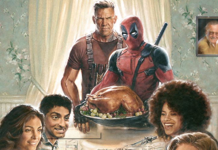 Deadpool 2 está dirigida por David Leitch. (Captura Twitter).