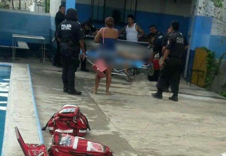 Los familiares del menor ahogado estaban inconsolables. (Foto tomada de redes sociales)