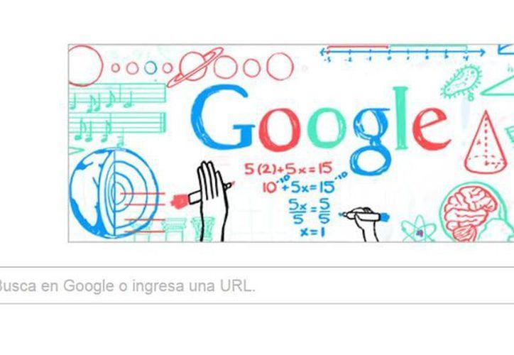 Google México rinde homenaje a los maestros del país en su día con un doodle interactivo. (Captura de pantalla)