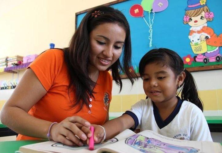 A los egresados de la Normal de Educación Preescolar se les reconoce un importante nivel de calidad. (Cortesía)