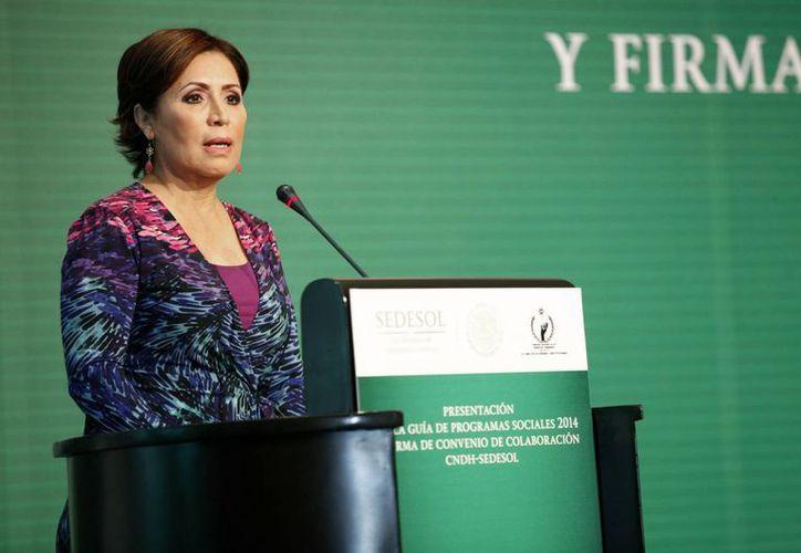 La titular de Sedesol, Rosario Robles, dijo que la coordinación entre los gobiernos federal y estatal será intensa y respetuosa en favor de los guerrerenses. (Foto: Archivo/Notimex)