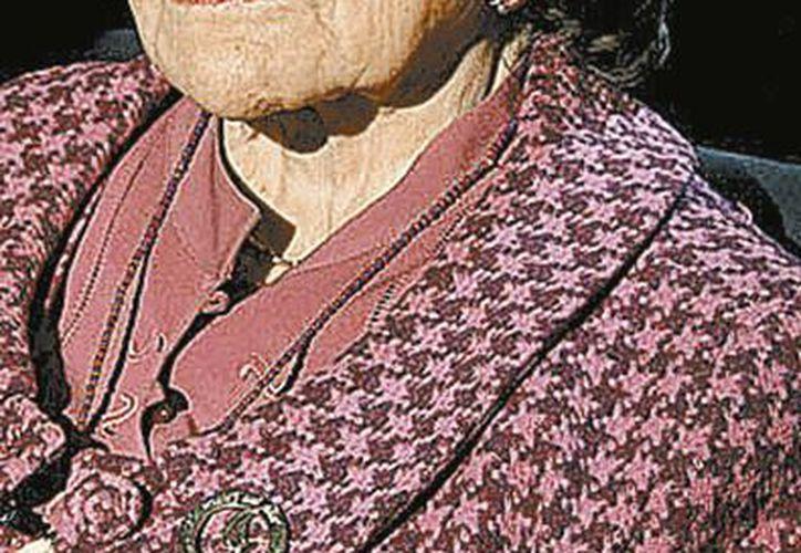 Ifigenia Martínez ha sido maestra de una buena parte de los gobernadores del país. Fue la primera mexicana graduada en Harvard.  (Gonzalo Ortuño/Milenio)