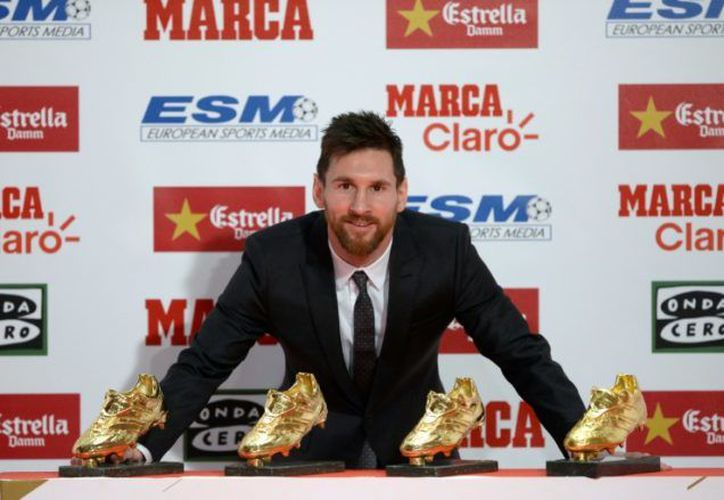 Messi logró 37 goles la pasada temporada. (AFP).