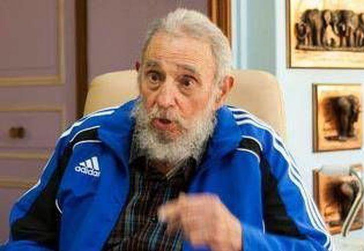 Fidel Castro, retirado desde 2006, no había publicado en meses en el diario oficial Granma. (EFE/Archivo)