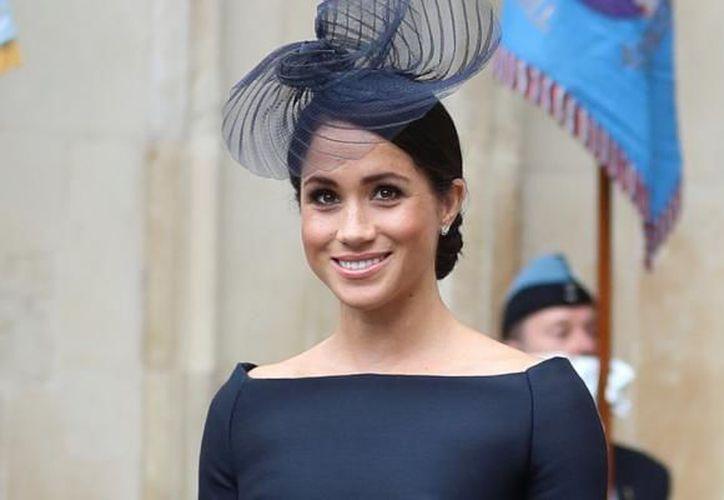 La más elegante Meghan Merkle. (Foto Reuters)