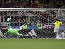 Inglaterra ganó en penales antes de los cobros