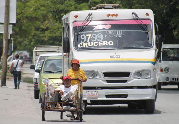 La Dirección de Tránsito del municipio registran cuatro accidentes al día. (Redacción/ SIPSE)