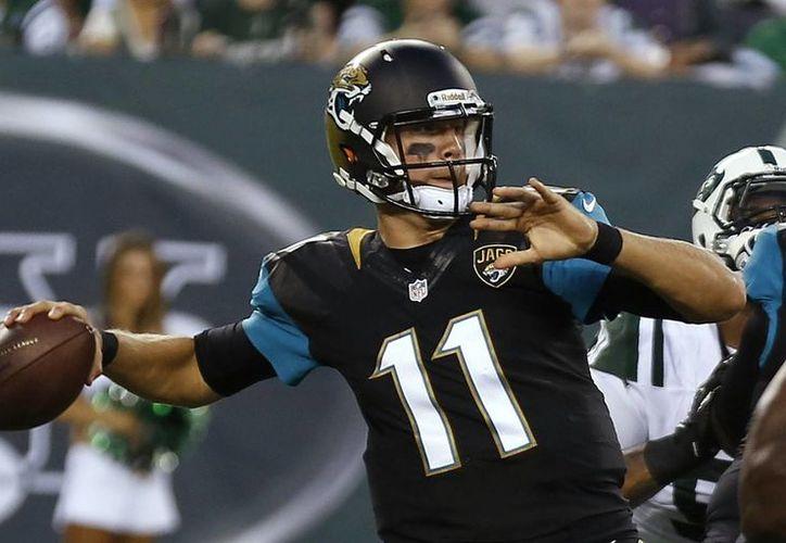 Jaguares de Jacksonville es uno de los equipos de la NFL que brindarán un partido oficial el año próximo en Inglaterra. (tiemporeal.mx)