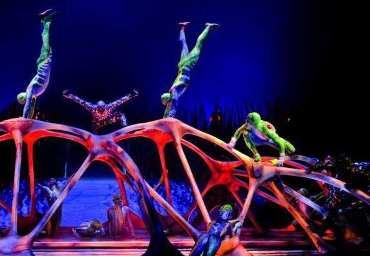 El grupo Vidanta se unió a al Cirque du Soleil para crear un circo en la Riviera Maya. (Archivo/SIPSE)