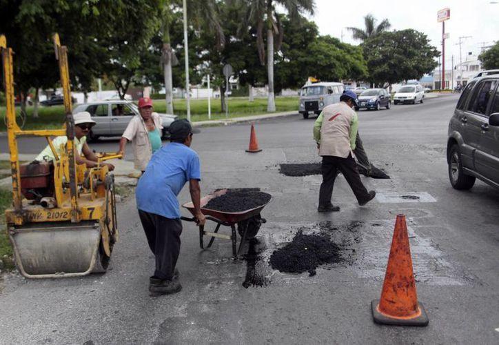 El programa de pavimentación recibirá una inversión de un millón 116 mil pesos. (Milenio Novedades)