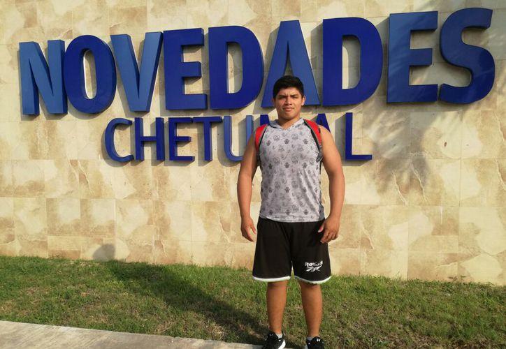 El año pasado logró bronce y ganó la Medalla 'Efraín Aguilar Marrufo' al Mérito Deportivo del municipio de Othón P. Blanco. (Miguel Maldonado/SIPSE)