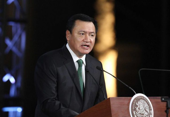 El secretario de Gobernación, Miguel Ángel Osorio Chong,declaró que con el nuevo sistema de Justicia Penal  los juicios serán más cortos y expeditos. (Notimex)