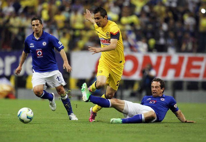 En último encuentro América-Cruz Azul, el de Copa, el marcador quedó empatado y Cruz Azul ganó en tiros penales. (Archivo/NTX)