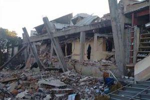 Derrumbe Hospital Materno-Infantil de Cuajimalpa