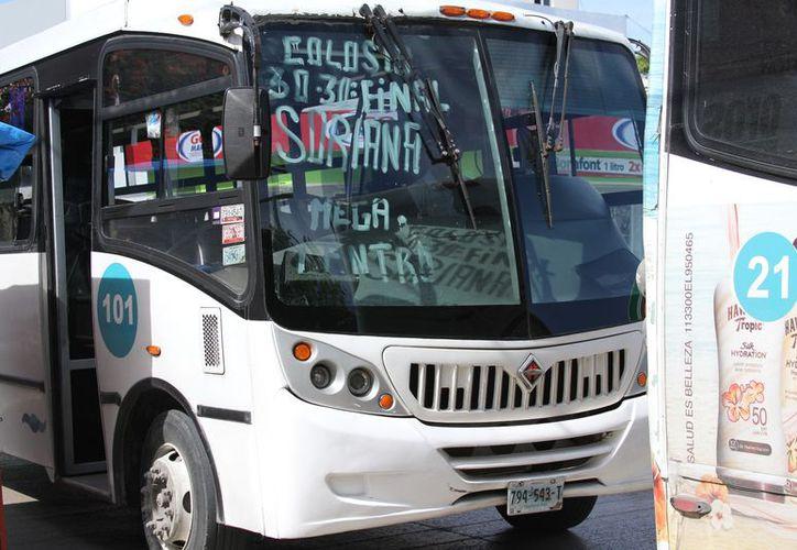 El gobierno que está por concluir incluyó en el plan de movilidad la cobertura de transporte urbano. (Adrián Barreto/SIPSE)