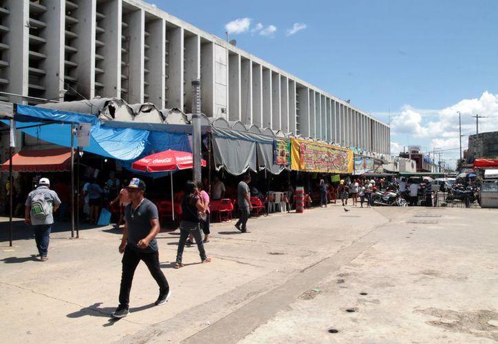 Actualmente, el mercado San Benito se encuentra subutilizado. (Foto: Milenio Novedades)