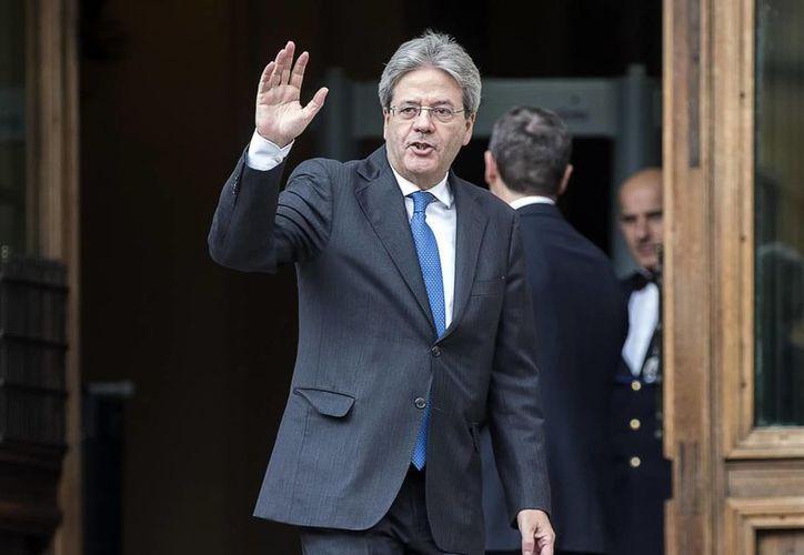 El ministro de Asuntos Exteriores de Italia, Paolo Gentiloni, es el nuevo primer ministro encargado de formar Gobierno en el país. (Angelo Carconi/ANSA via AP)