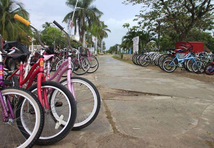 Con el proyecto, se busca potenciar la infraestructura para bicicletas con que ya cuenta la capital. (Jorge Carrillo/SIPSE)