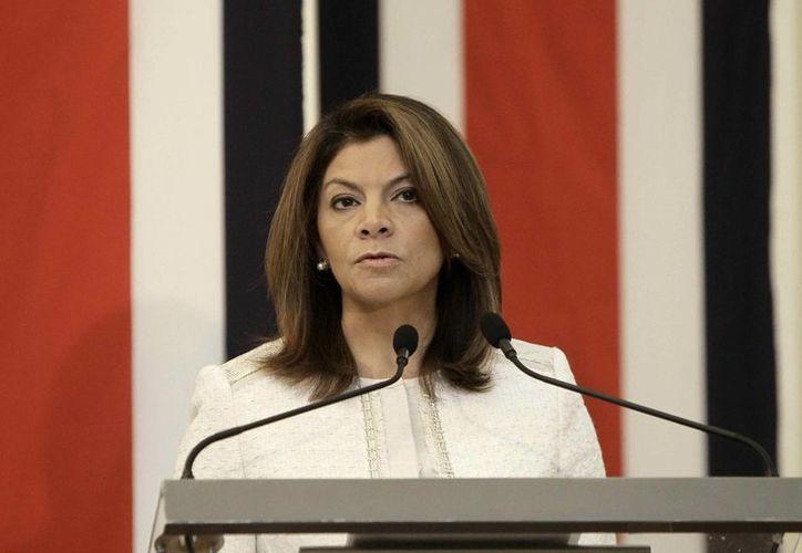 La presidenta Laura Chinchilla llevará nuevamente a la Corte Internacional de Justicia el lío territorial entre Nicaragua y su país. (EFE)