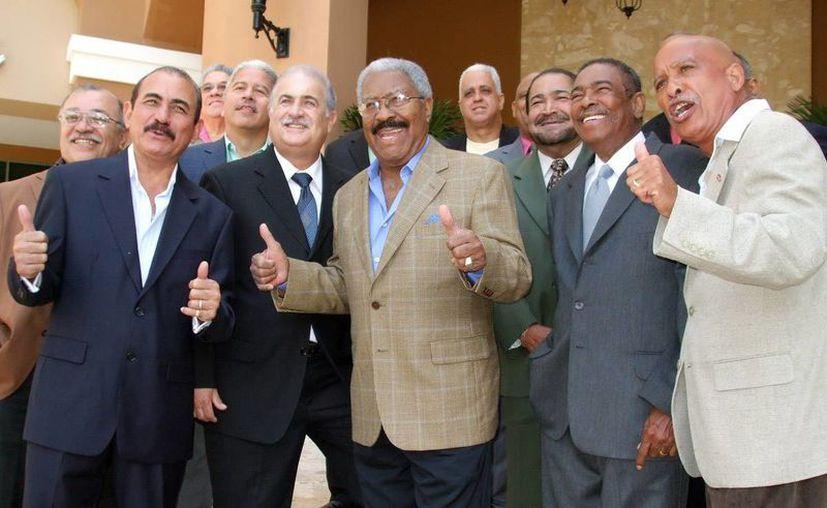Después de seis años, el Gran Combo de Puerto Rico presentó el disco 'Alunizando'. (EFE)