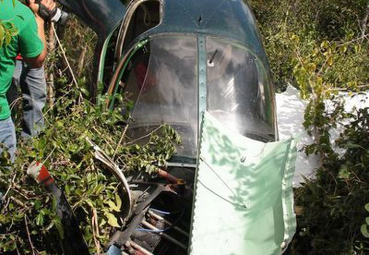 """Los percances ocurrieron el año pasado en el aeródromo """"Capitán Eduardo Toledo Parra"""", localizado en el kilómetro 11.5 de la carretera perimetral sur.  (Julian Miranda/SIPSE)"""