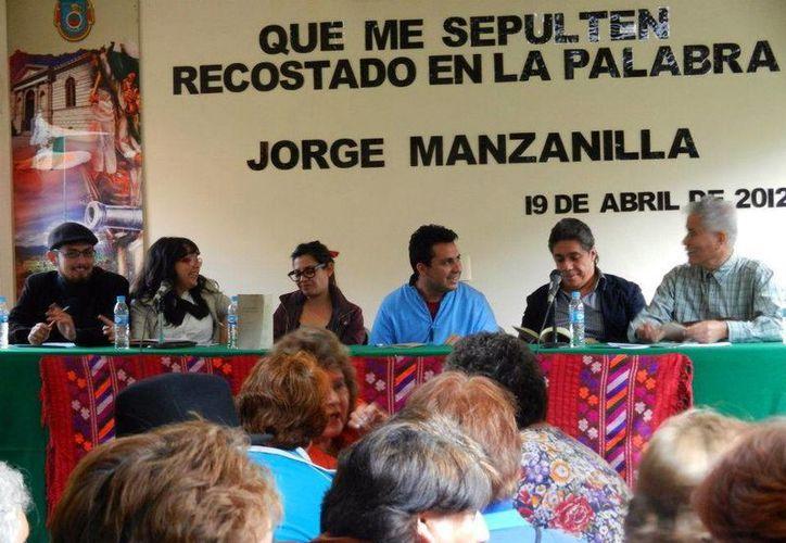 El poemario que Jorge Manzanilla presentó el año pasado finalmente resultó ganador. (Milenio Novedades)