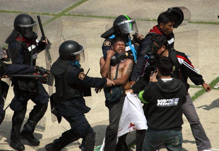 Los manifestantes han prometido boicotar las elecciones y sacar del gobierno a Yingluck. (Agencias)