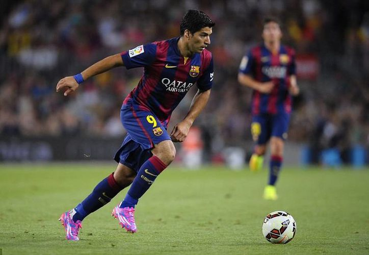 Luis Suárez se apresta a debutar este fin de semana en la Liga española en el partido más importante: Barcelona vs Real Madrid. (dailymail.co.uk)