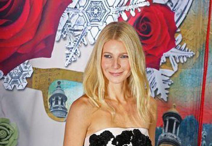 La actriz Gwyneth Paltrow anunció el marte su separación del cantante Chris Martin. (Agencias)