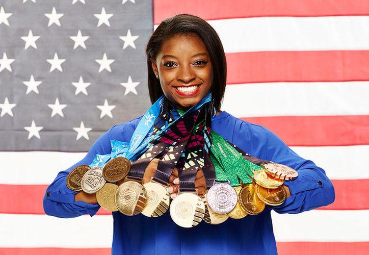 La deportista cumplió con su promesa y publicó una grabación realmente divertida. (NBC Olympics)