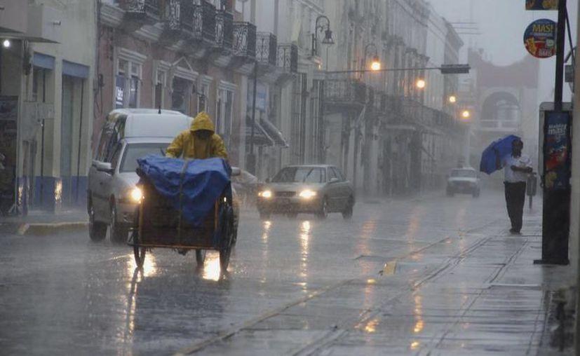 'Alto' potencial para lluvias fuertes a muy fuertes en el noreste, oriente y centro de Yucatán. (SIPSE)