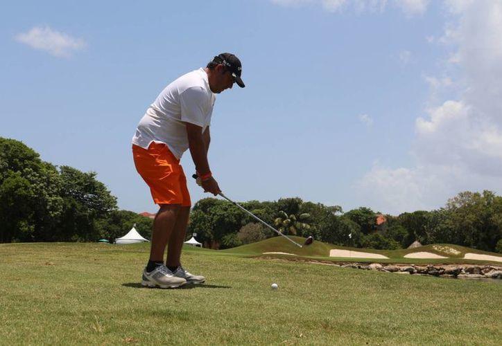 La competencia se realizó en el Hard Rock Golf Club. (Adrián Barreto/SIPSE)
