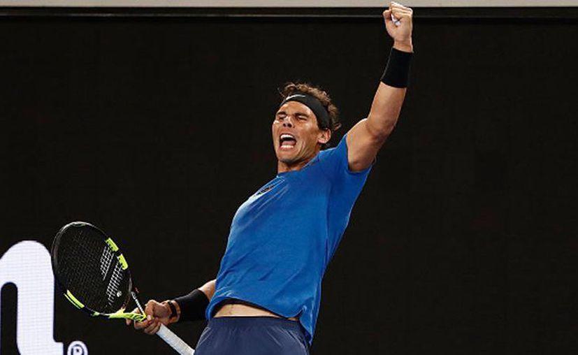 Rafael Nadal y Simona Halep fueron designados cabezas de serie. (Getty Images)