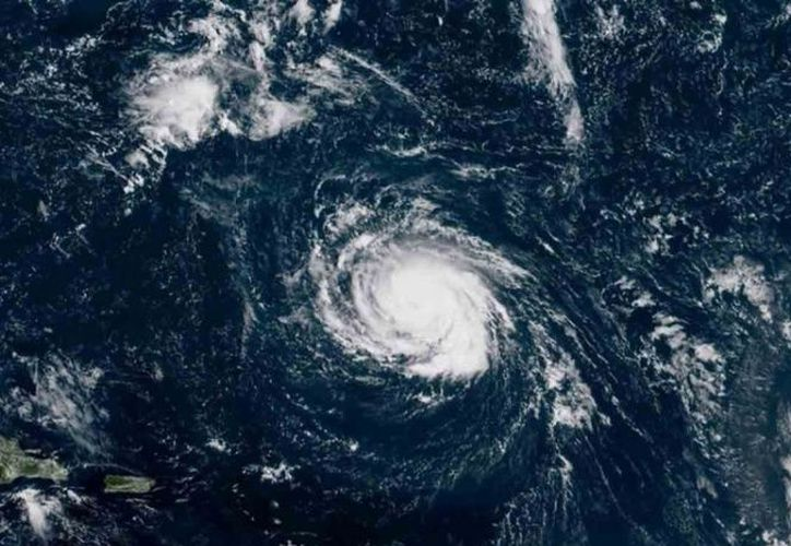 El huracán Florence ya es categoría 3. (Internet)