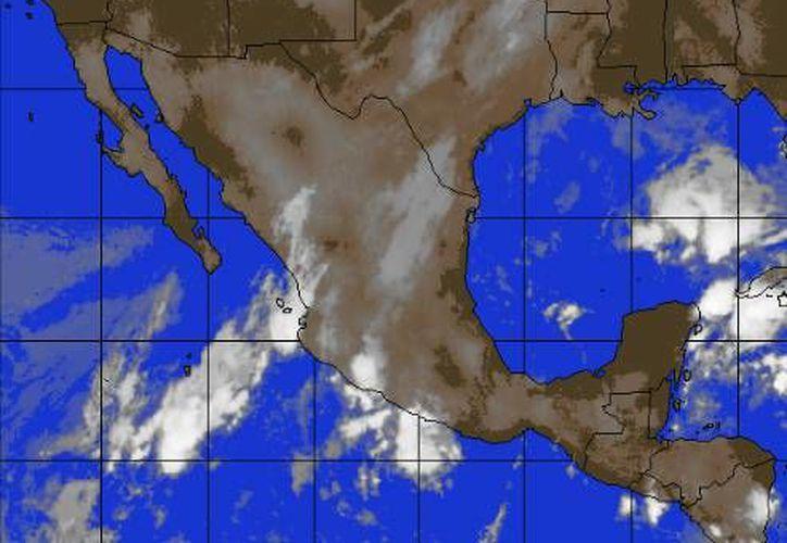 Pronostican entrada de aire marítimo tropical con moderado contenido de humedad, procedente del Golfo de México y el mar Caribe. (Foto/accuweather.com)