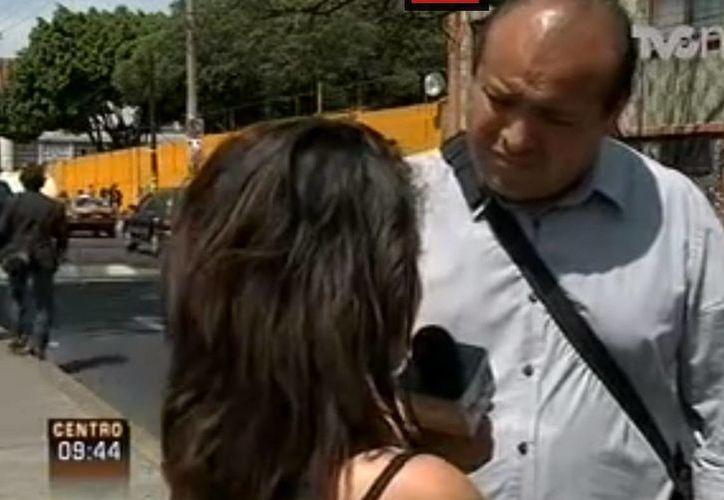 Entrevista a una de las jóvenes que se quejaron de ser víctimas de acoso del maestro Teodoro Castro Ruiz. (Captura de YouTube)