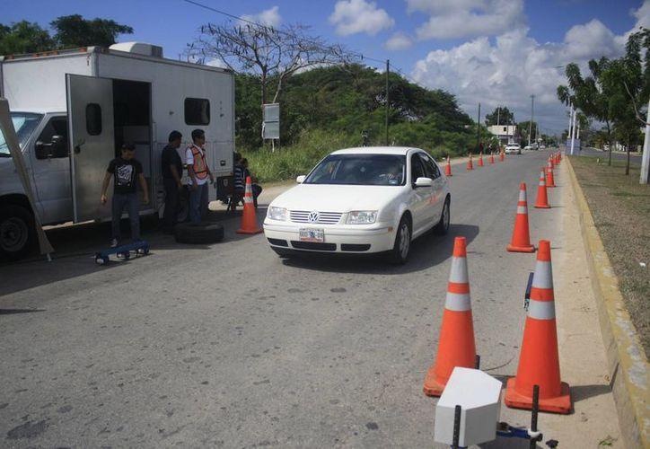 El miércoles y jueves las unidades llegarán a Playa del Carmen  y el viernes y sábado a Cancún. (Harold Alcocer/SIPSE)