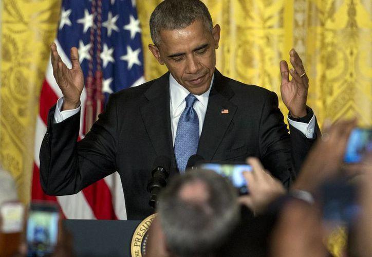 El presidente de Estados Unidos, Barack Obama, habló sobre la lucha contra las drogas y el papel de Colombia en esta estrategia, y al proceso de paz. (Agencias)