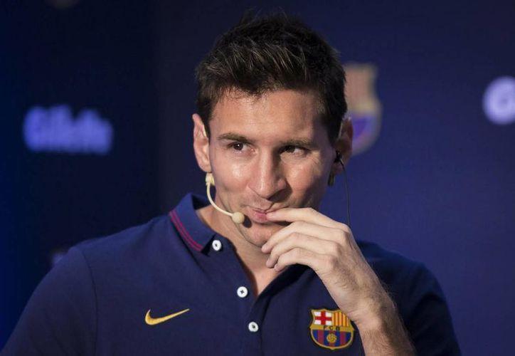 Messi seguirá en el Barcelona en la próxima temporada, aseguró el técnico Luis Enrique. (Archivo/Notimex)