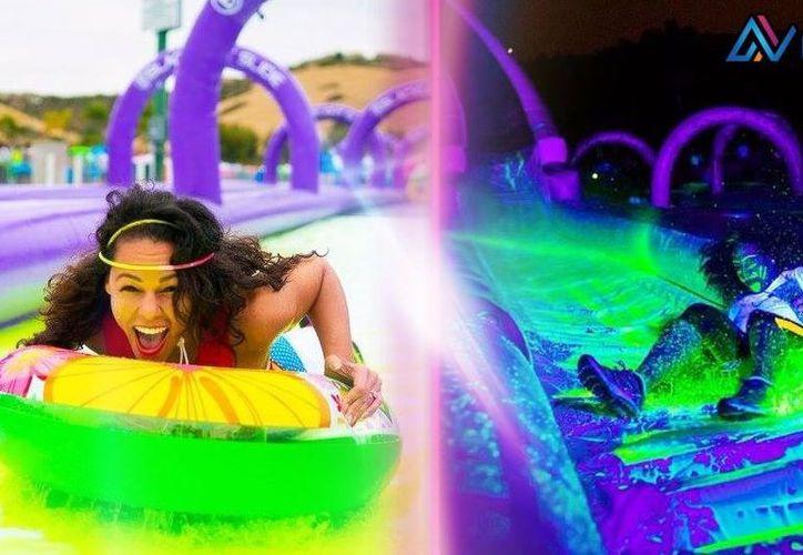 Las atracciones están llenas de adrenalina y colores de neón. (Foto: Facebook)