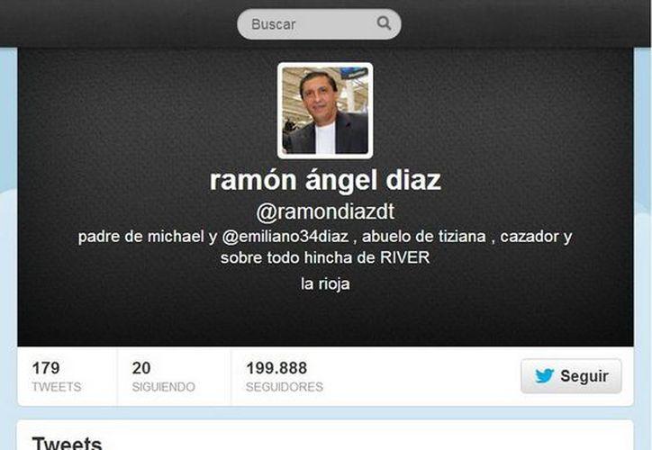 Ramón Díaz, DT de River Plate, se molestó porque algunos de sus seguidores no fueron muy amables con él tras la derrota 1-0 ante San Lorenzo. (@ramondiazdt)