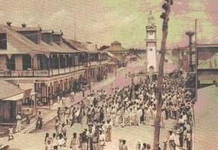 La fecha coincide con la llegada de Othón Pompeyo Blanco a México, quien es considerado el fundador de esta población. (Cortesía/SIPSE)