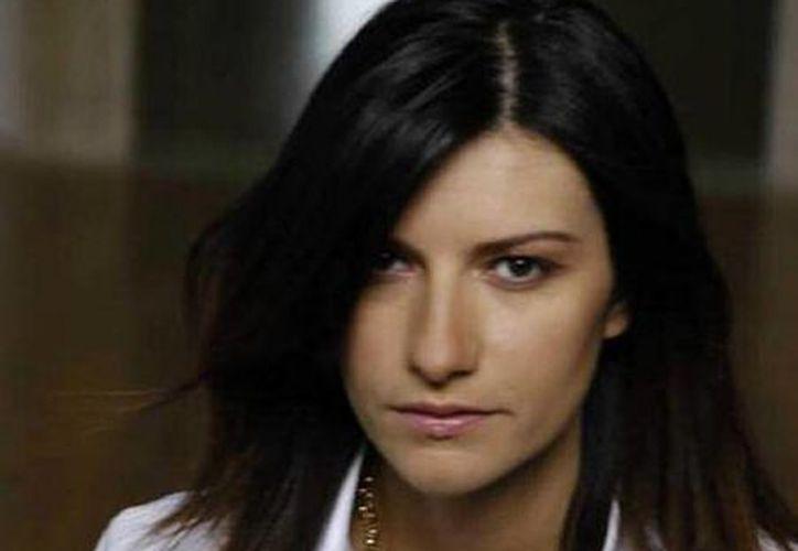 La cantante italiana dijo estar feliz por compartir el escenario con grandes estrellas internacionales en la gala. (Archivo SIPSE)