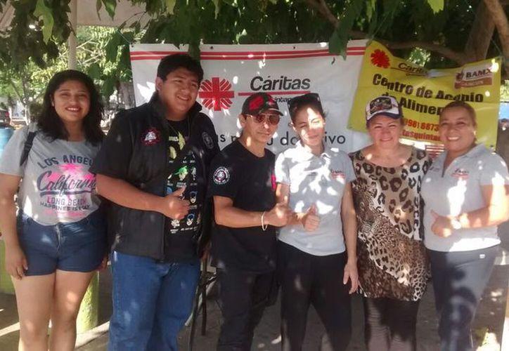 Tarde de música a beneficio de los damnificados del sismo el pasado 7 de septiembre. (SIPSE)