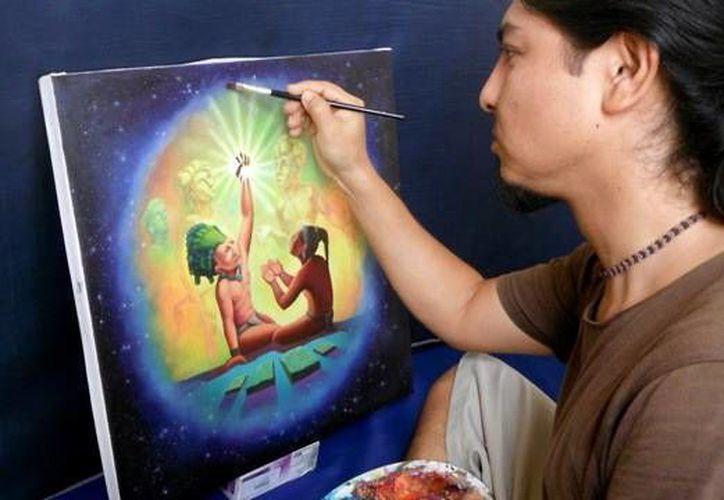 La pintura es una disciplina con gran impacto entre los estudiantes. (Milenio Novedades)